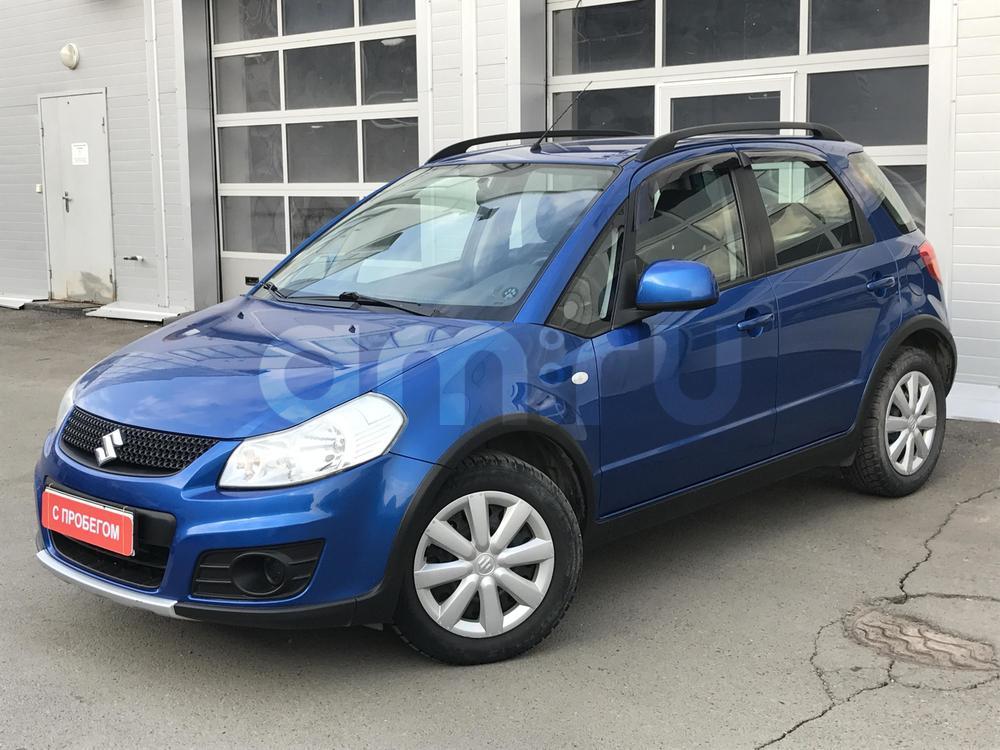 Suzuki SX4 с пробегом, синий металлик, хорошее состояние, 2011 года выпуска, цена 425 000 руб. в автосалоне  ()