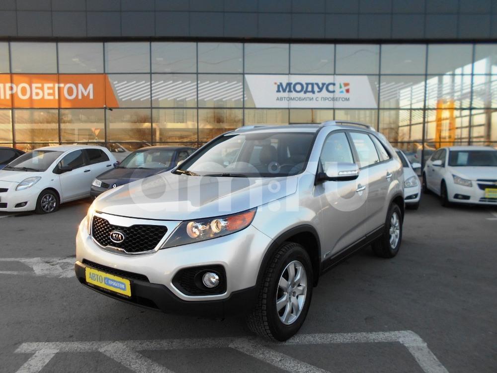 Kia Sorento с пробегом, серебряный , отличное состояние, 2012 года выпуска, цена 1 070 000 руб. в автосалоне  ()