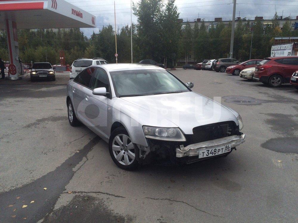 Подержанный Audi A6, хорошее состояние, серебряный , 2007 года выпуска, цена 575 000 руб. в ао. Ханты-Мансийском Автономном округе - Югре