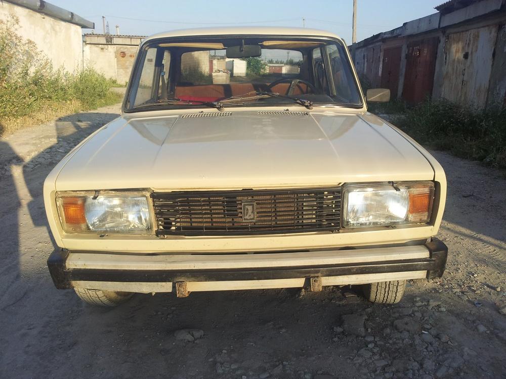 Подержанный ВАЗ (Lada) 2105, хорошее состояние, бежевый , 1991 года выпуска, цена 70 000 руб. в Крыму