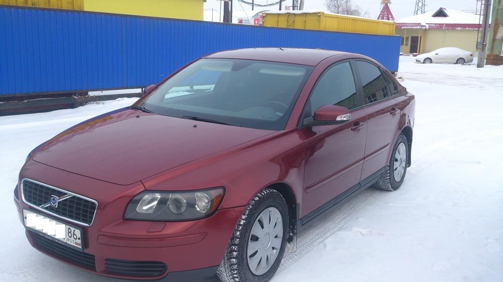 Подержанный Volvo S40, отличное состояние, бордовый , 2007 года выпуска, цена 380 000 руб. в ао. Ханты-Мансийском Автономном округе - Югре