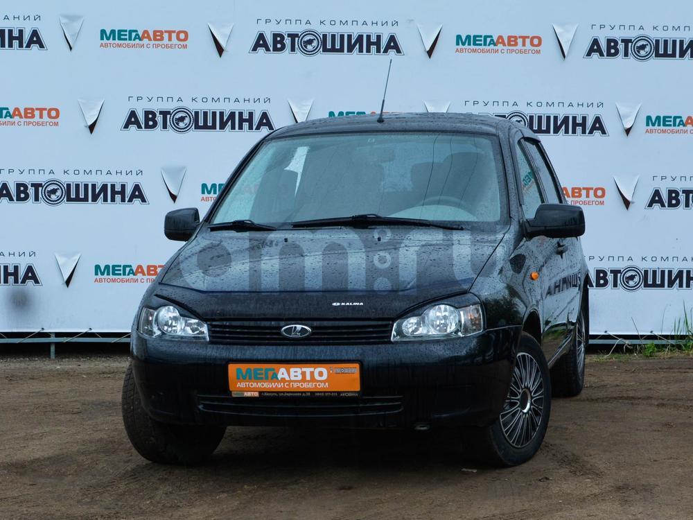 ВАЗ (Lada) Kalina с пробегом, черный , отличное состояние, 2012 года выпуска, цена 197 000 руб. в автосалоне Мега Авто Калуга (Калуга, ул. Зерновая, д. 28)