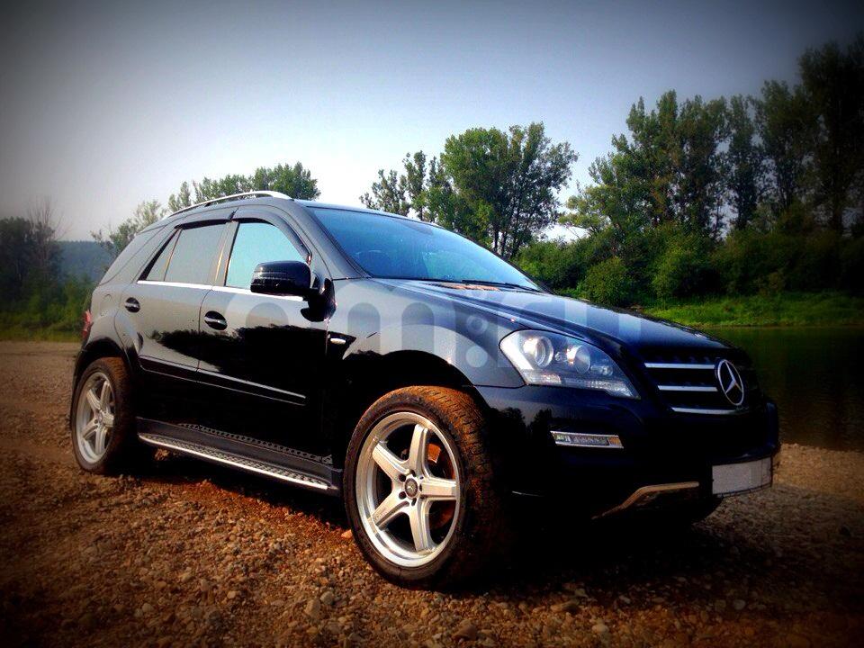 Подержанный Mercedes-Benz M-Класс, отличное состояние, черный , 2011 года выпуска, цена 1 850 000 руб. в ао. Ханты-Мансийском Автономном округе - Югре
