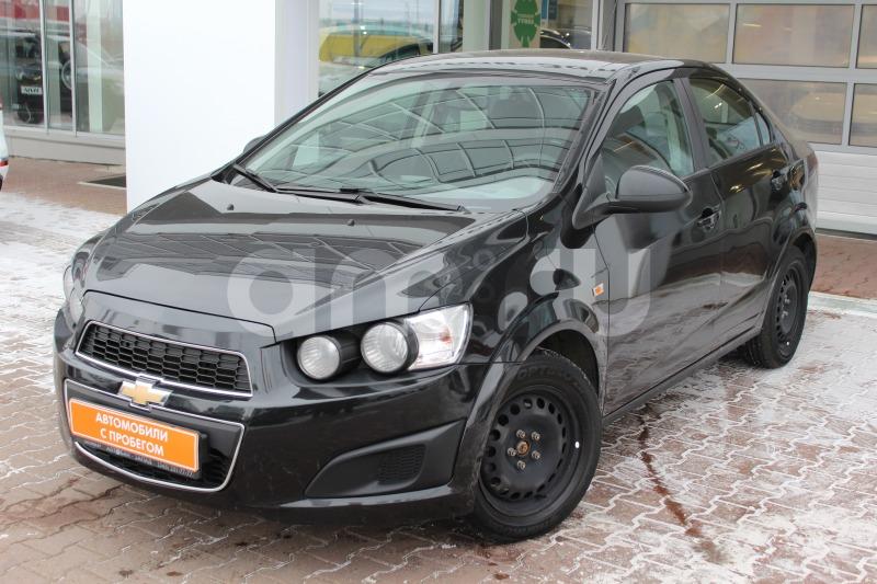 Chevrolet Aveo с пробегом, черный металлик, отличное состояние, 2013 года выпуска, цена 365 000 руб. в автосалоне  ()