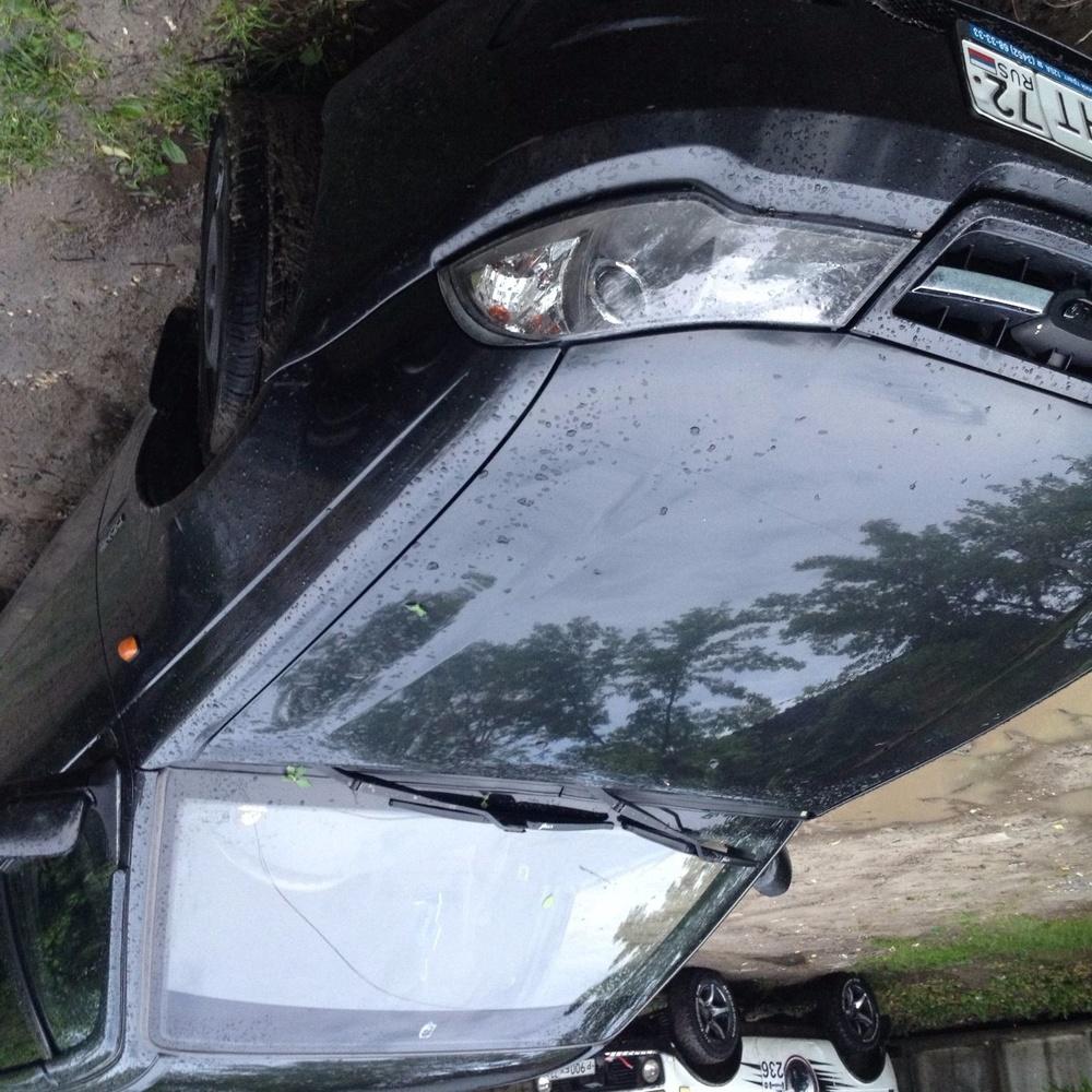 Подержанный Daewoo Nexia, хорошее состояние, черный , 2010 года выпуска, цена 140 000 руб. в Тюмени