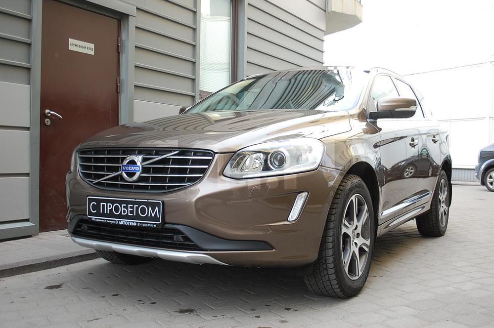 Volvo XC60 с пробегом, коричневый , отличное состояние, 2014 года выпуска, цена 1 639 000 руб. в автосалоне  ()