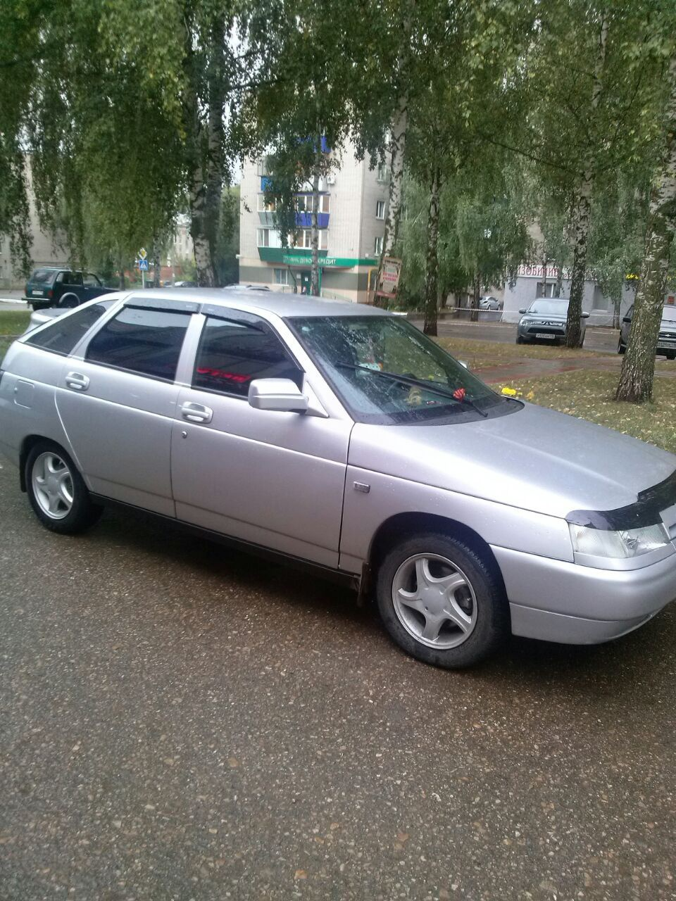 Подержанный ВАЗ (Lada) 2112, среднее состояние, серый металлик, 2006 года выпуска, цена 130 000 руб. в республике Татарстане