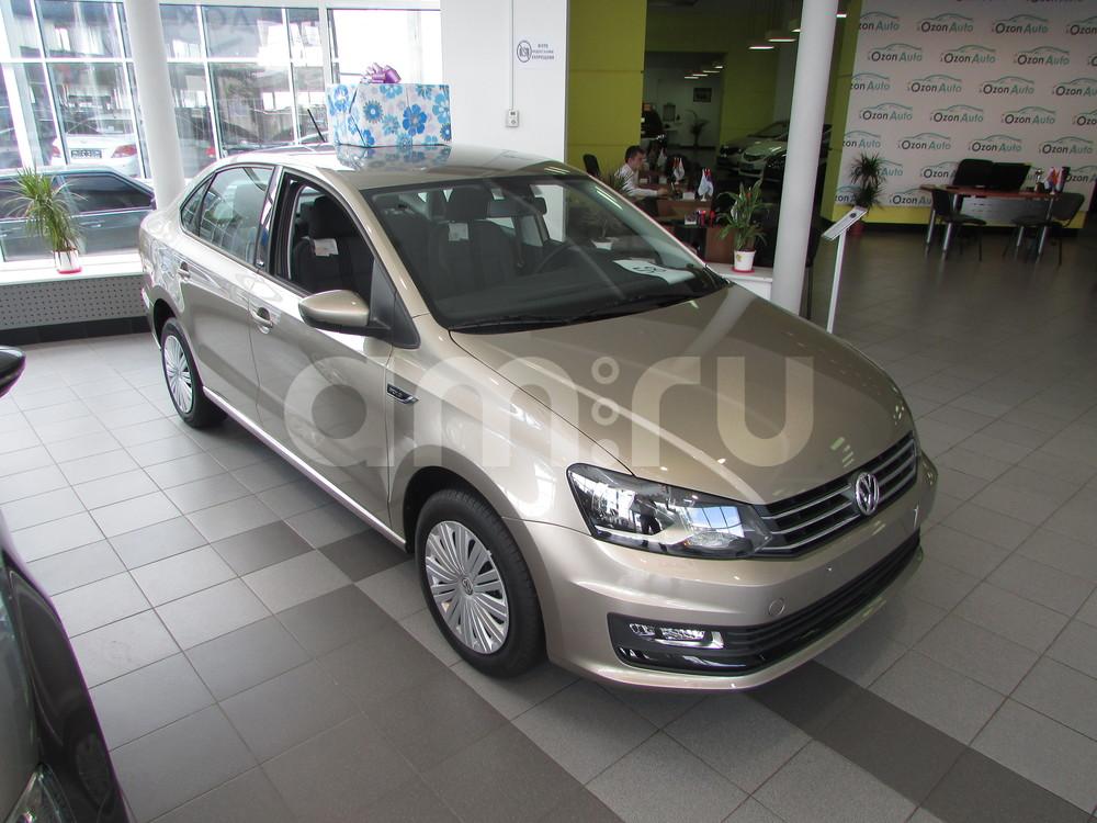 Volkswagen Polo с пробегом, бежевый металлик, отличное состояние, 2016 года выпуска, цена 609 000 руб. в автосалоне  ()