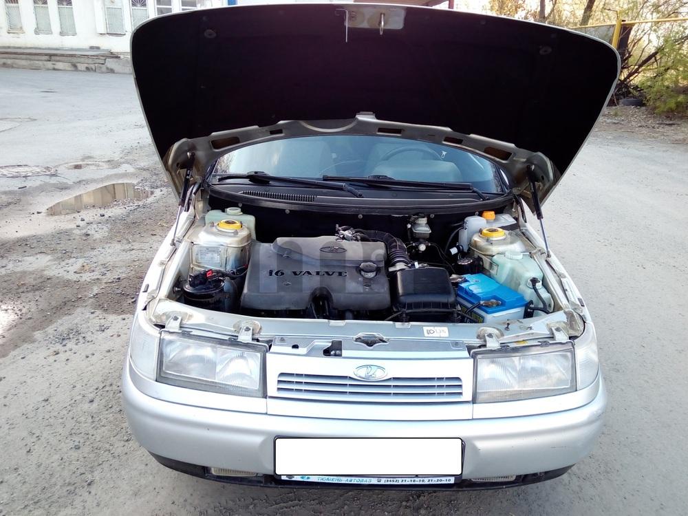 Подержанный ВАЗ (Lada) 2111, хорошее состояние, серебряный металлик, 2005 года выпуска, цена 110 000 руб. в Тюмени