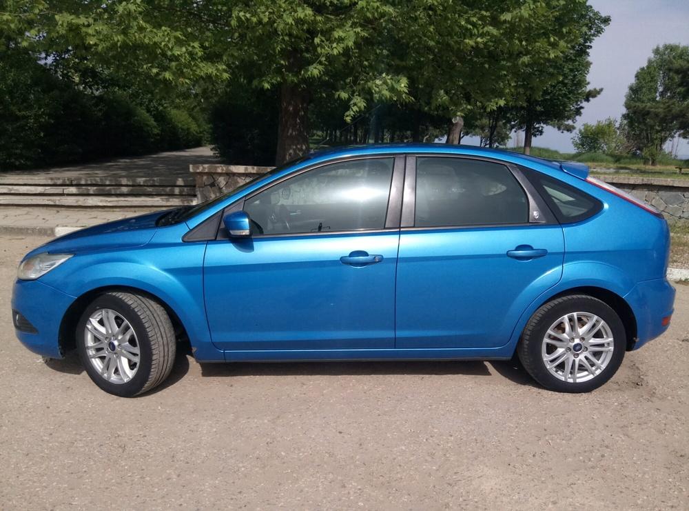 Подержанный Ford Focus, отличное состояние, синий , 2008 года выпуска, цена 370 000 руб. в Крыму