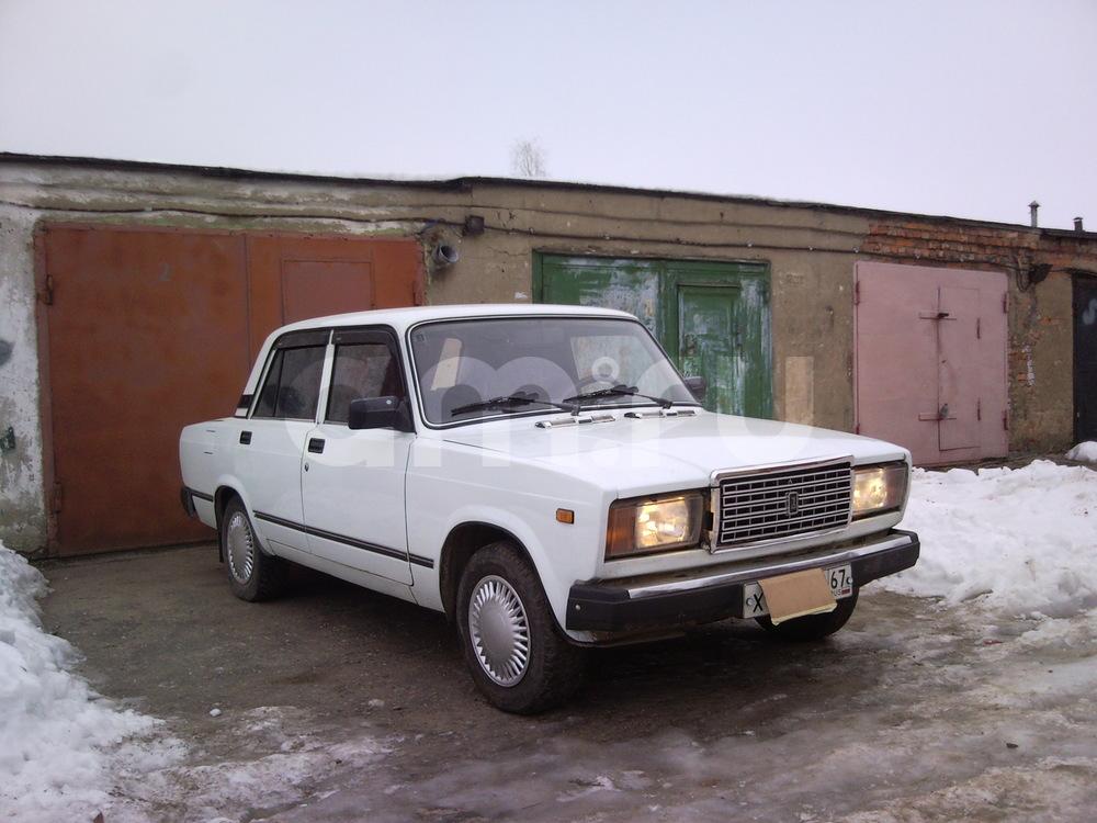Подержанный ВАЗ (Lada) 2107, отличное состояние, белый , 2011 года выпуска, цена 106 000 руб. в Смоленской области