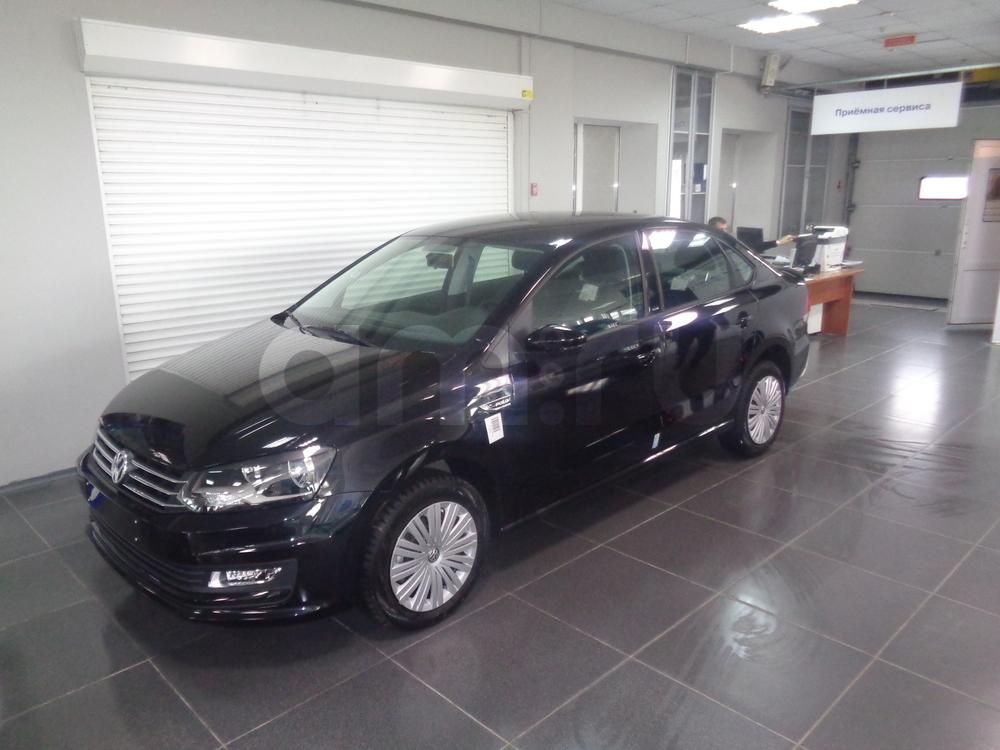 Volkswagen Polo с пробегом, черный , отличное состояние, 2016 года выпуска, цена 695 000 руб. в автосалоне УФА МОТОРС (Уфа, ул. Сарапульская, д. 35)