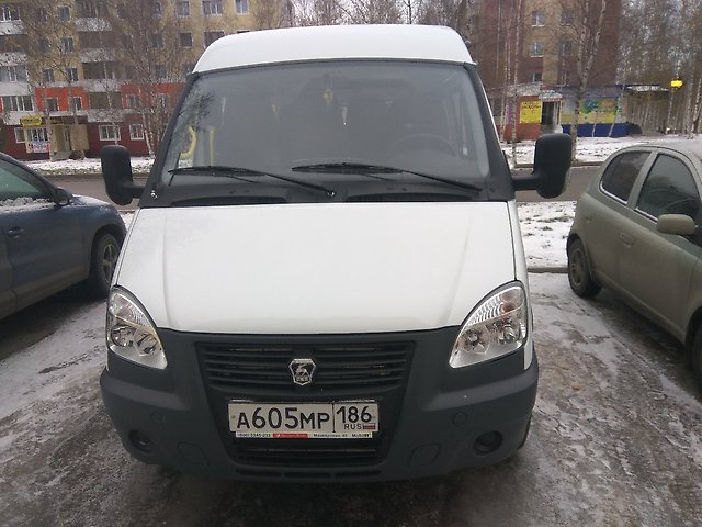 Подержанный ГАЗ Газель, отличное состояние, белый , 2016 года выпуска, цена 880 000 руб. в ао. Ханты-Мансийском Автономном округе - Югре