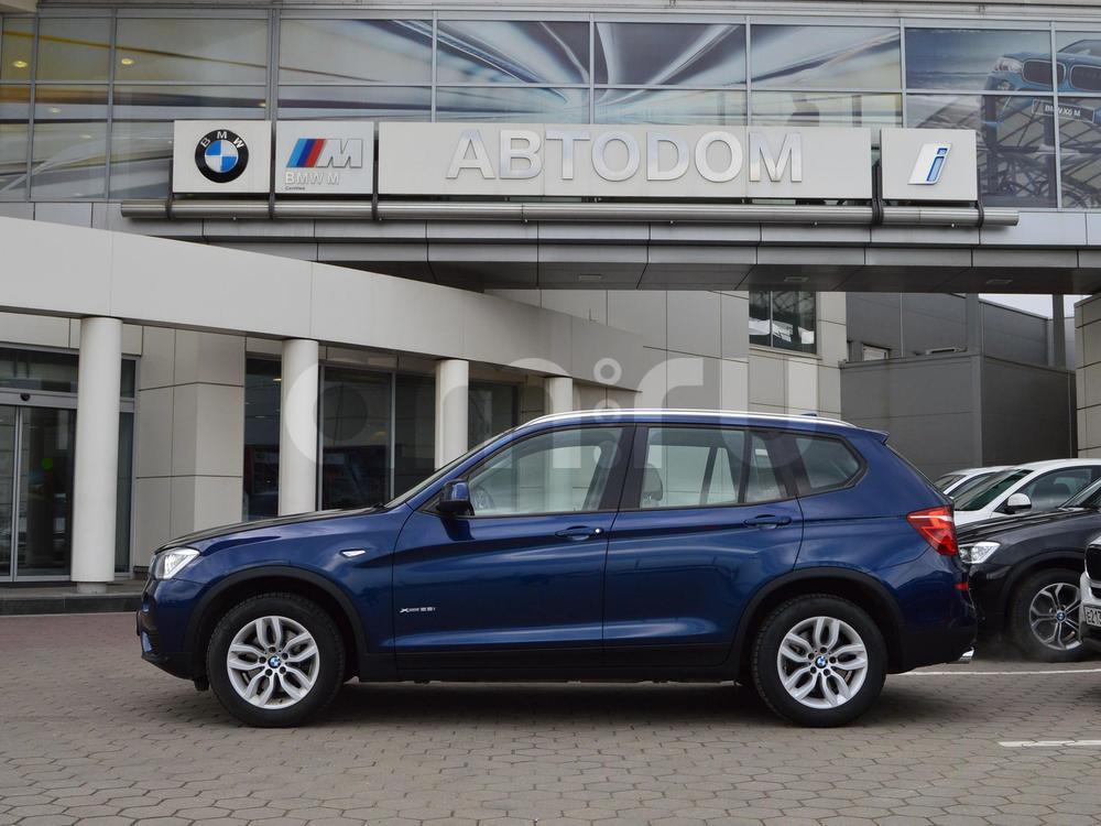 BMW X3 с пробегом, синий металлик, отличное состояние, 2014 года выпуска, цена 1 945 000 руб. в автосалоне АВТОDОМ МКАД (Москва, МКАД, 51 км (внешняя сторона))