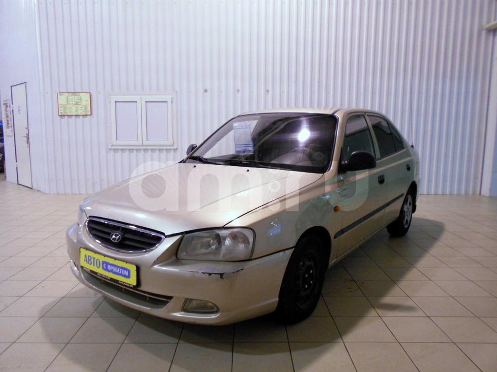Hyundai Accent с пробегом, бежевый металлик, отличное состояние, 2004 года выпуска, цена 185 000 руб. в автосалоне МОДУС ПЛЮС Ростов-на-Дону (Ростов-на-Дону, ул.Вавилова, д. 74 А/1)