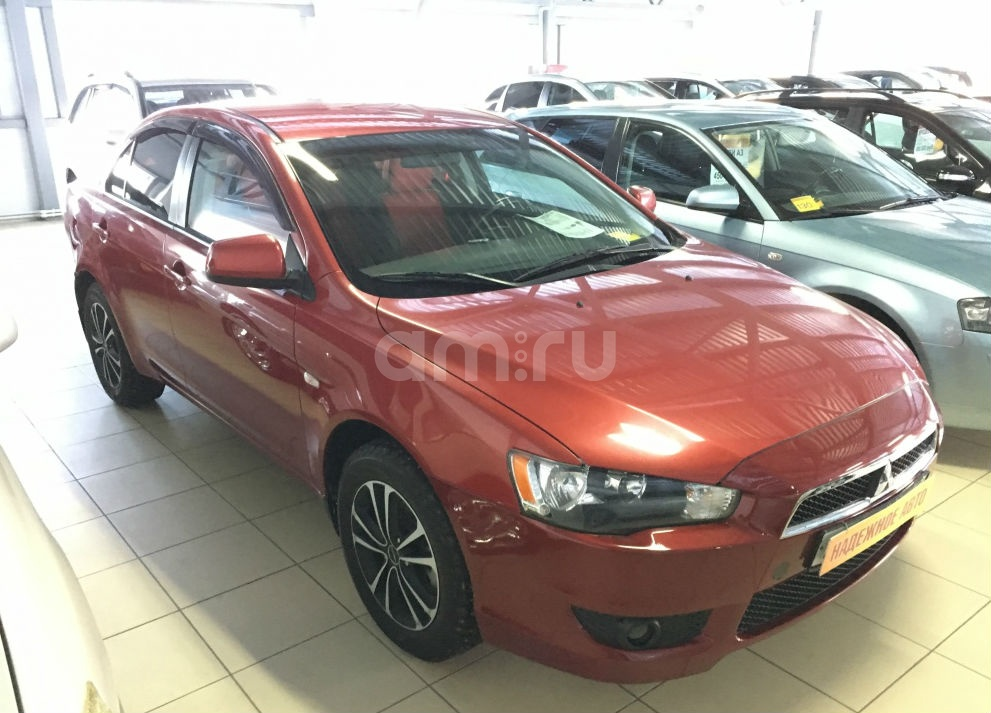 Mitsubishi Lancer с пробегом, красный , отличное состояние, 2010 года выпуска, цена 465 000 руб. в автосалоне  ()