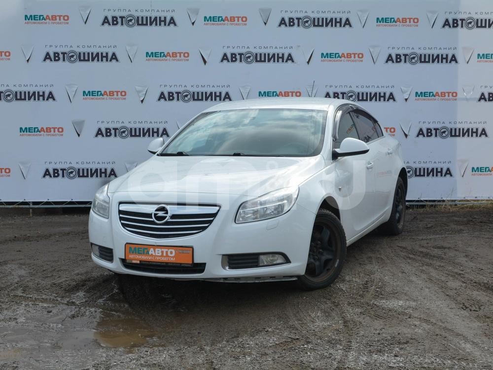 Opel Insignia с пробегом, белый , отличное состояние, 2011 года выпуска, цена 639 000 руб. в автосалоне Мега Авто Калуга (Калуга, ул. Зерновая, д. 28)