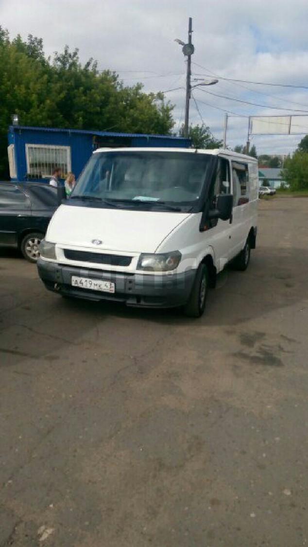 Подержанный Ford Transit, хорошее состояние, белый , 2002 года выпуска, цена 280 000 руб. в республике Татарстане