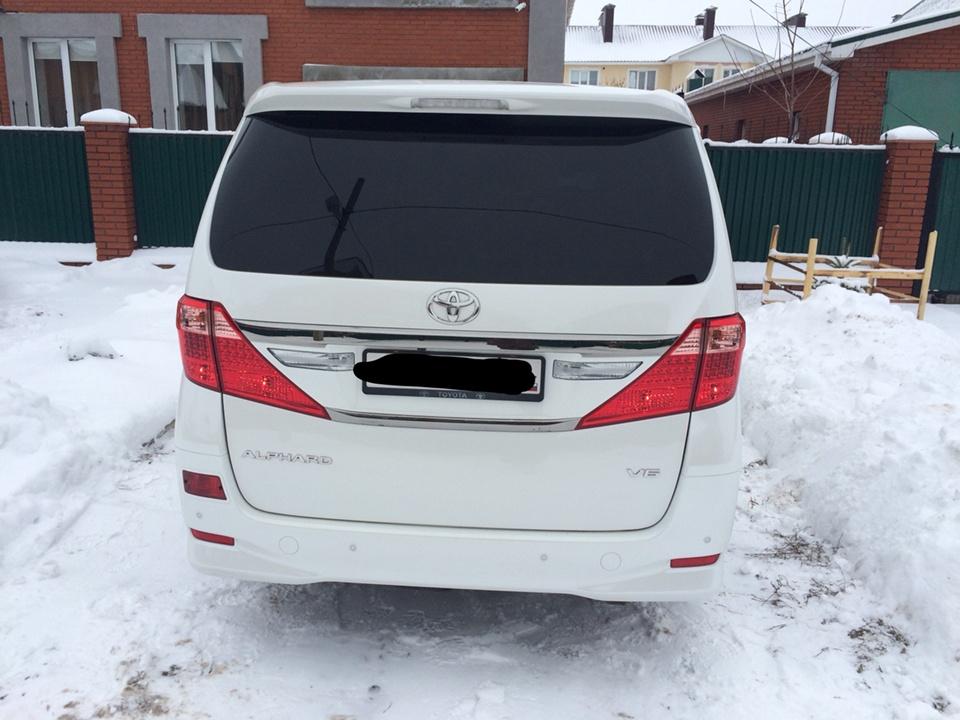 Подержанный Toyota Alphard, отличное состояние, белый перламутр, 2012 года выпуска, цена 2 650 000 руб. в республике Татарстане