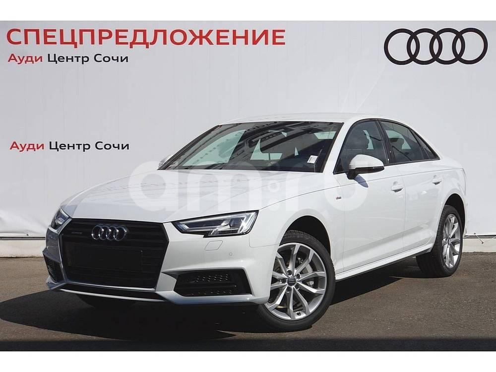 Новый авто Audi A4, белый , 2016 года выпуска, цена 2 990 000 руб. в автосалоне Ауди Центр Сочи (Сочи, ул. Кипарисовая, д. 16/1)