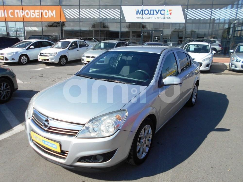 Opel Astra с пробегом, серебряный , отличное состояние, 2007 года выпуска, цена 320 000 руб. в автосалоне  ()