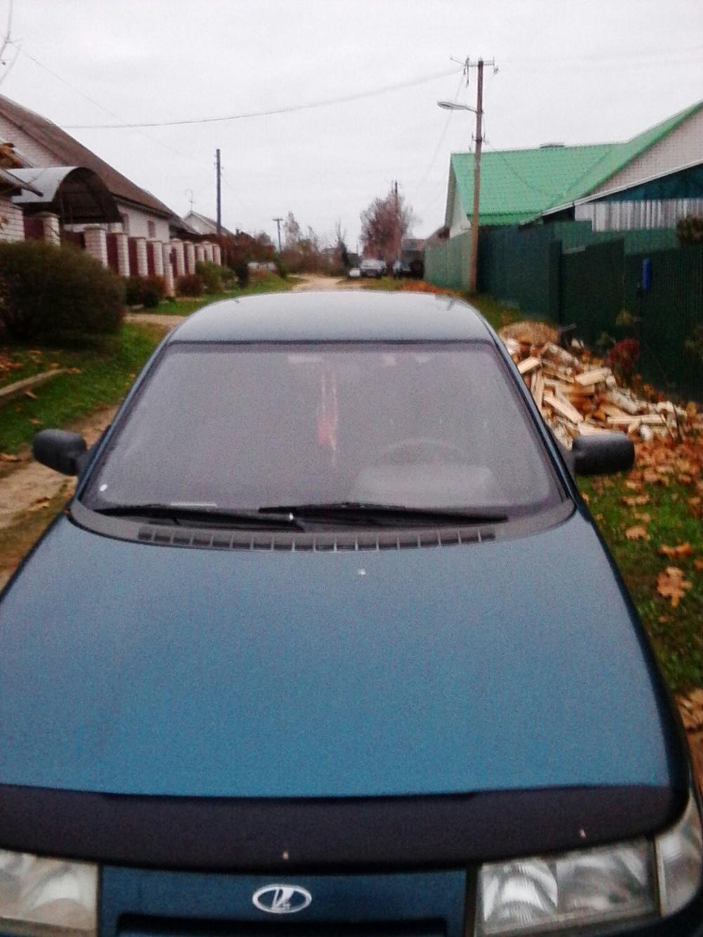 Подержанный ВАЗ (Lada) 2110, хорошее состояние, зеленый металлик, 2000 года выпуска, цена 65 000 руб. в Смоленской области