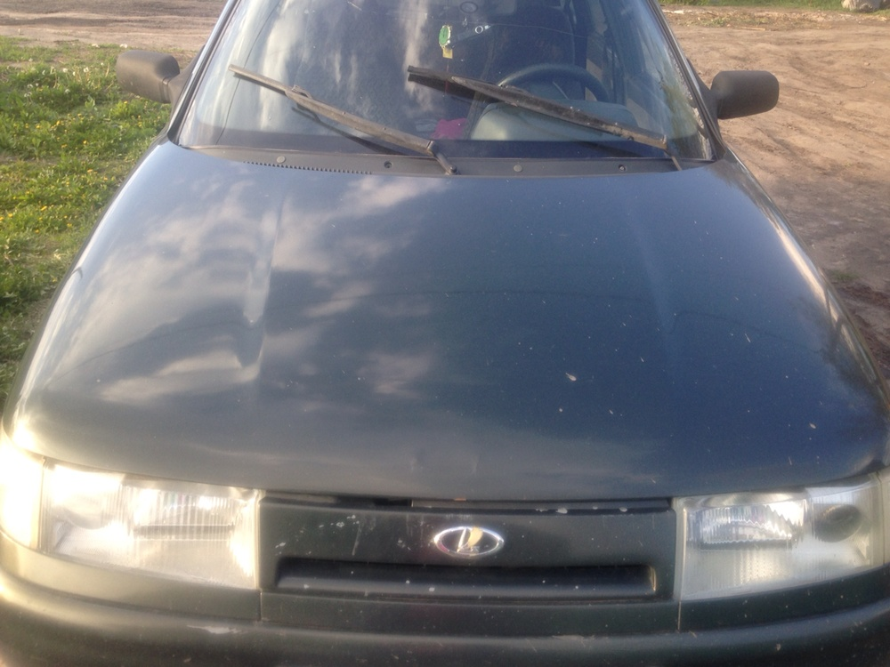 Подержанный ВАЗ (Lada) 2111, хорошее состояние, зеленый , 2006 года выпуска, цена 110 000 руб. в Омске