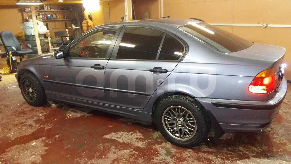 Подержанный BMW 3 серия, отличное состояние, синий перламутр, 2001 года выпуска, цена 250 000 руб. в ао. Ханты-Мансийском Автономном округе - Югре