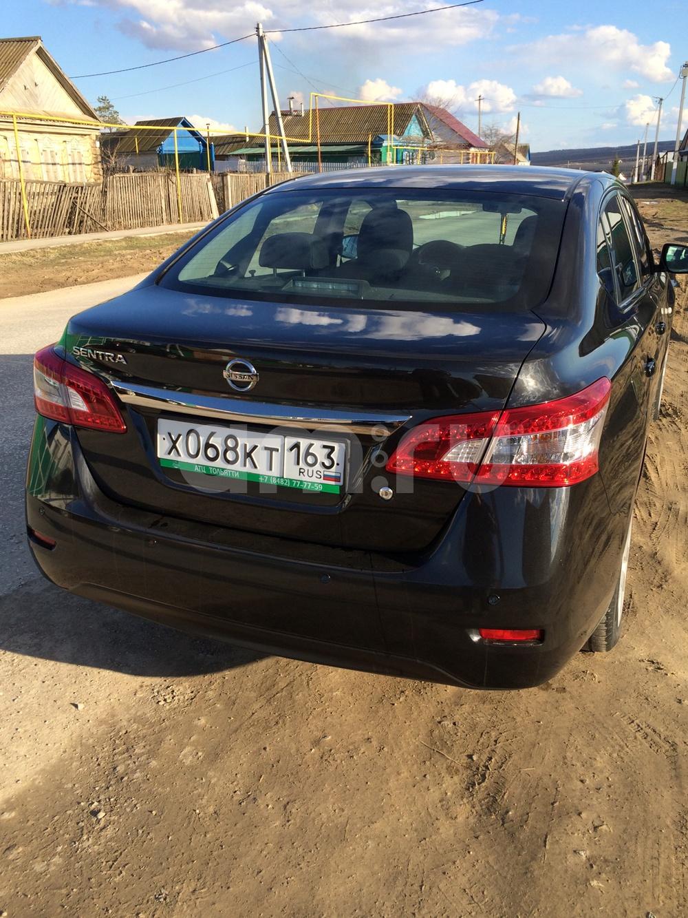 Подержанный Nissan Sentra, отличное состояние, черный , 2015 года выпуска, цена 715 000 руб. в Самаре
