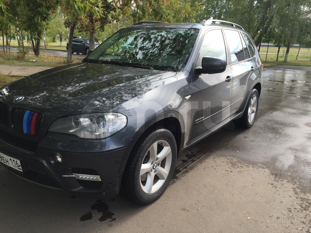 Подержанный BMW X5, хорошее состояние, серый , 2010 года выпуска, цена 1 550 000 руб. в республике Татарстане