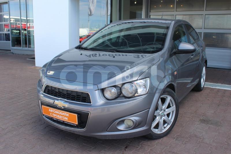 Chevrolet Aveo с пробегом, серый металлик, отличное состояние, 2012 года выпуска, цена 385 000 руб. в автосалоне Автобан-Запад (Екатеринбург, ул. Металлургов, д. 67)