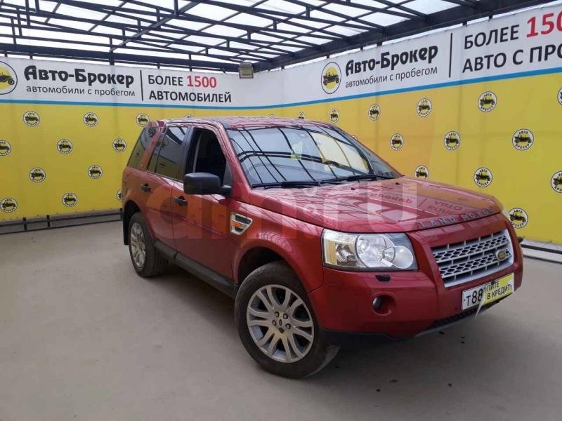 Land Rover Freelander с пробегом, красный , отличное состояние, 2007 года выпуска, цена 550 000 руб. в автосалоне  ()