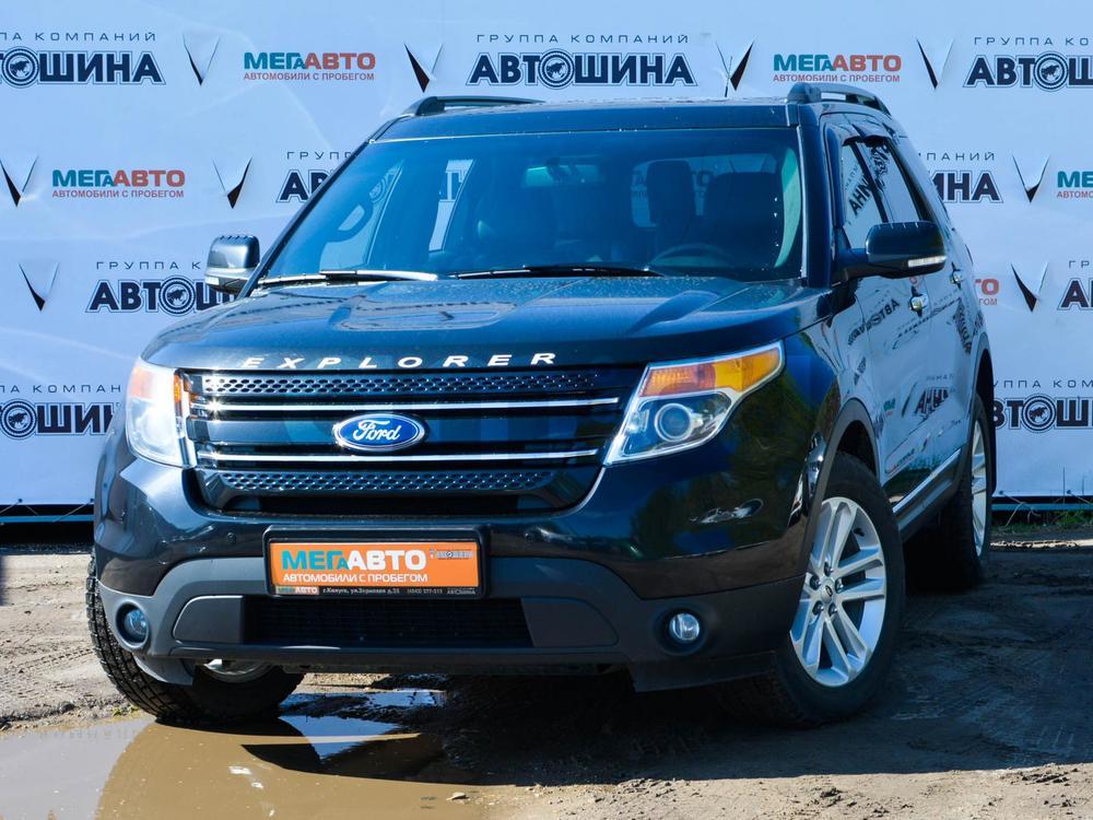 Ford Explorer с пробегом, черный , отличное состояние, 2015 года выпуска, цена 1 650 000 руб. в автосалоне Мега Авто Калуга (Калуга, ул. Зерновая, д. 28)