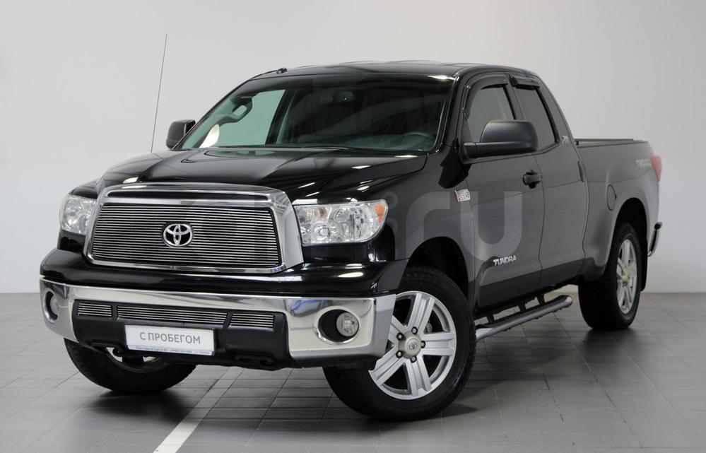 Toyota Tundra с пробегом, черный , отличное состояние, 2012 года выпуска, цена 1 995 000 руб. в автосалоне  ()