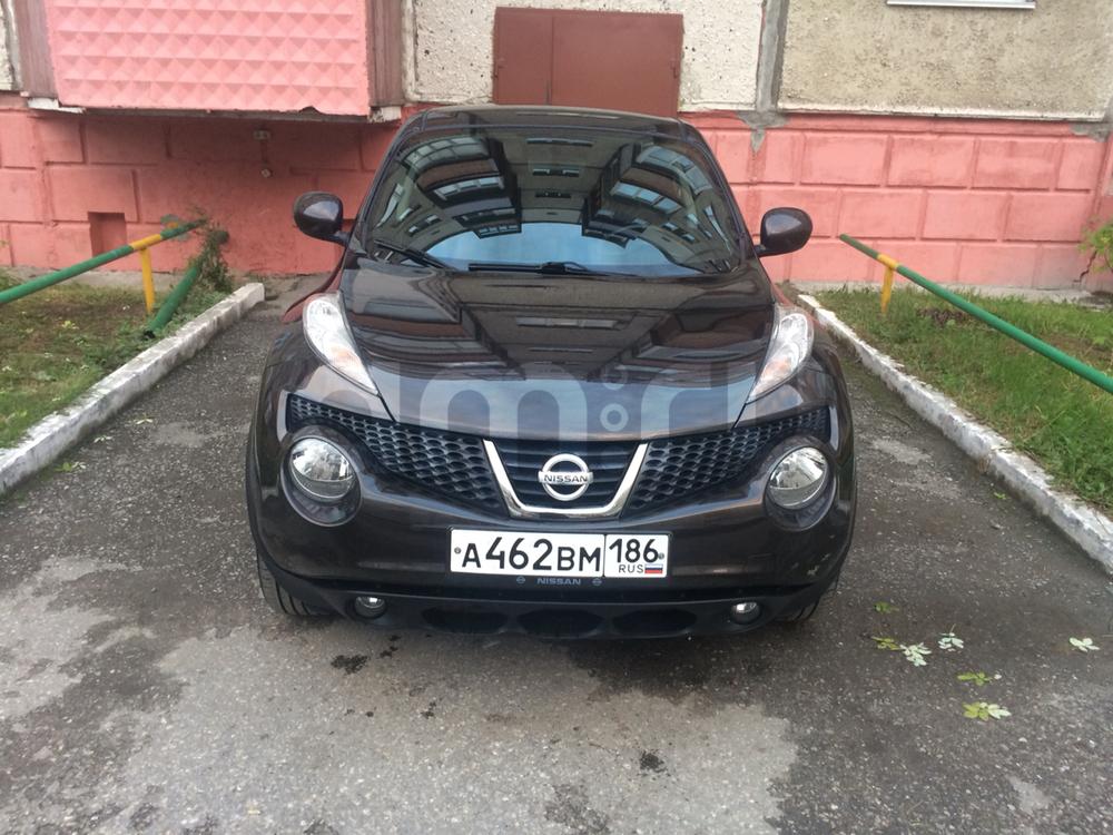 Подержанный Nissan Juke, отличное состояние, коричневый , 2011 года выпуска, цена 590 000 руб. в ао. Ханты-Мансийском Автономном округе - Югре
