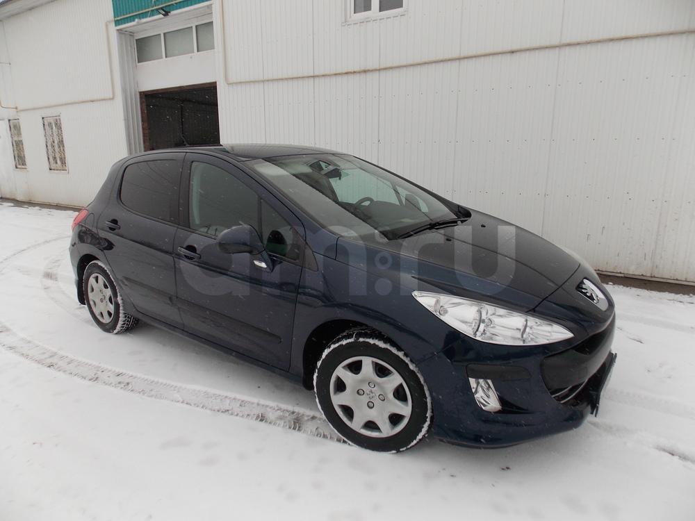 Подержанный Peugeot 308, отличное состояние, синий , 2010 года выпуска, цена 400 000 руб. в Ульяновской области