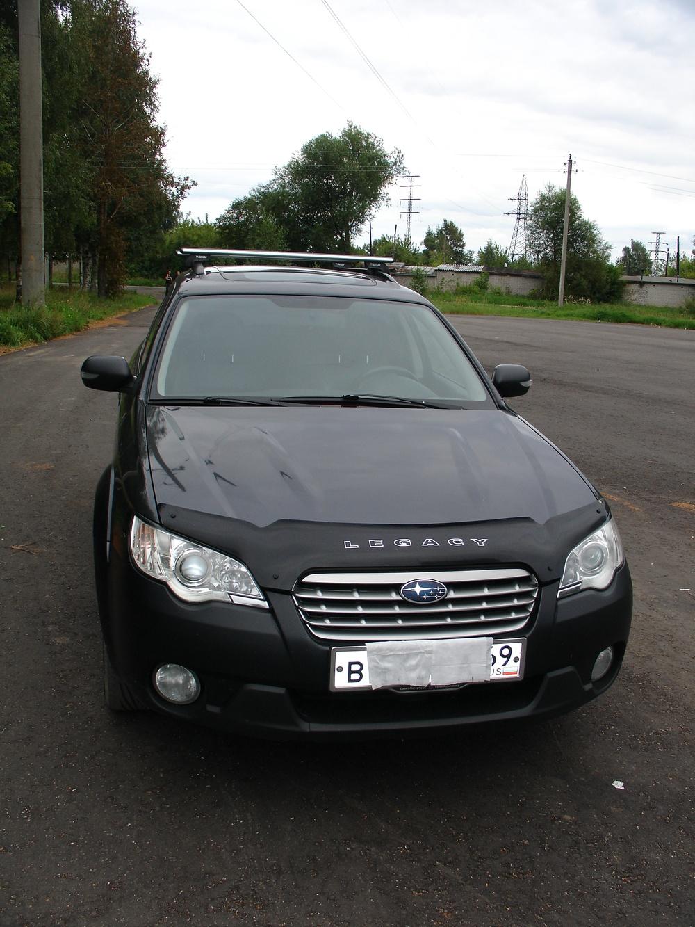 Подержанный Subaru Outback, отличное состояние, мокрый асфальт металлик, 2007 года выпуска, цена 700 000 руб. в Тверской области