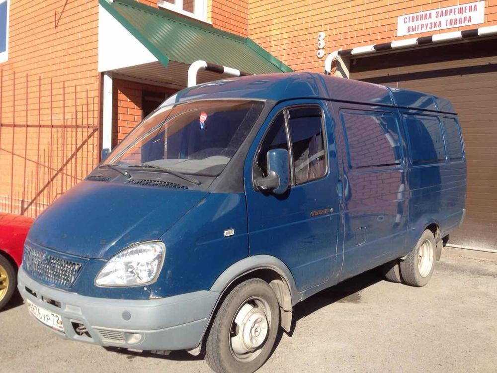 Подержанный ГАЗ Газель, хорошее состояние, синий , 2006 года выпуска, цена 180 000 руб. в Тюмени