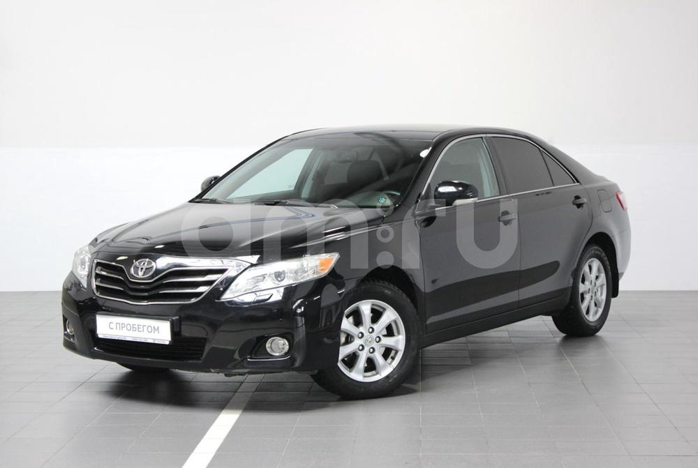 Toyota Camry с пробегом, черный , хорошее состояние, 2010 года выпуска, цена 799 000 руб. в автосалоне Тойота Центр Сургут Юг (Сургут, тракт Югорский, д. 23, стр. 1)
