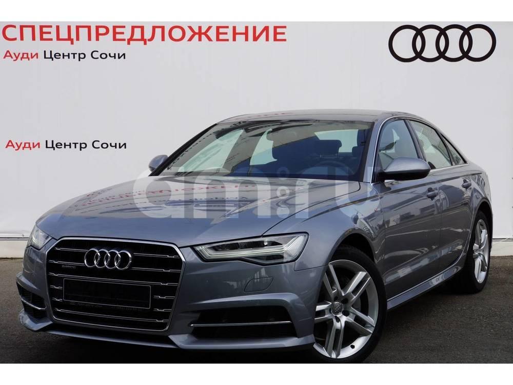 Новый авто Audi A6, серый , 2016 года выпуска, цена 2 990 000 руб. в автосалоне  ()