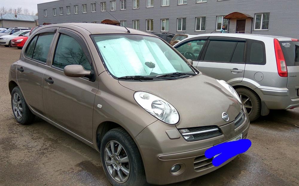 Подержанный Nissan Micra, отличное состояние, сафари , 2006 года выпуска, цена 370 000 руб. в республике Татарстане