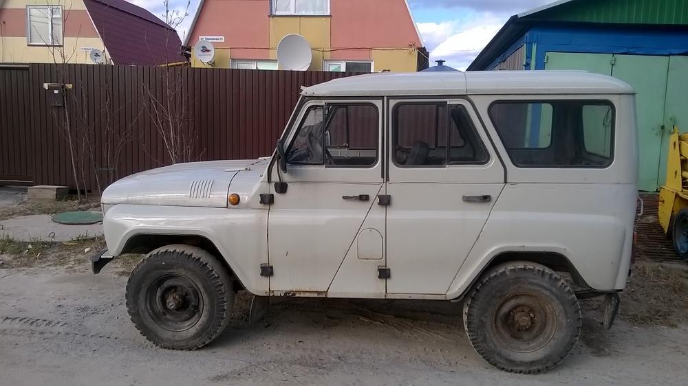 Подержанный УАЗ 3151, хорошее состояние, белый , 2003 года выпуска, цена 165 000 руб. в ао. Ханты-Мансийском Автономном округе - Югре