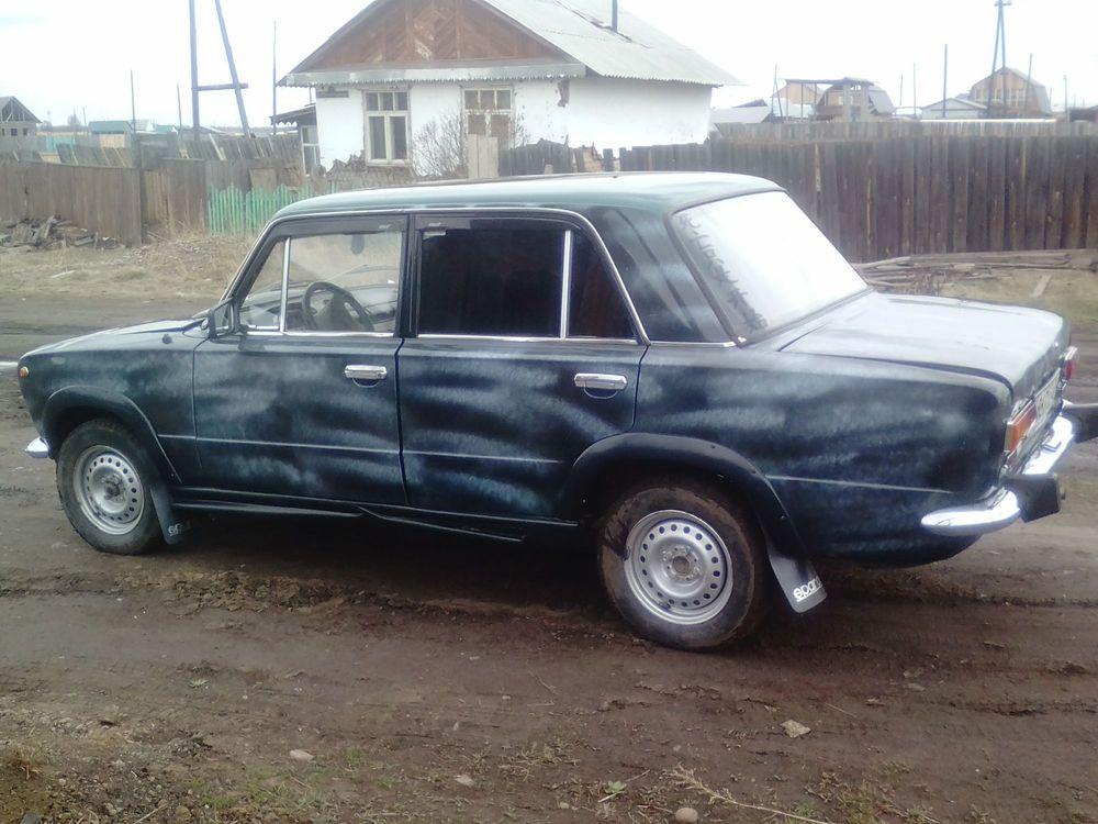 Подержанный ВАЗ (Lada) 2101, хорошее состояние, зеленый , 1974 года выпуска, цена 35 000 руб. в Иркутской области