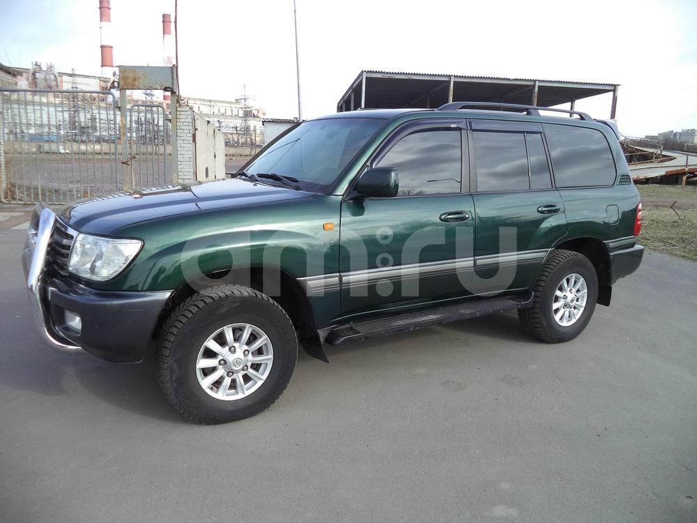 Toyota Land Cruiser с пробегом, зеленый , отличное состояние, 1999 года выпуска, цена 775 000 руб. в автосалоне Инфо Кар Плюс (Санкт-Петербург, дорога на Турухтанные острова, д. 10)