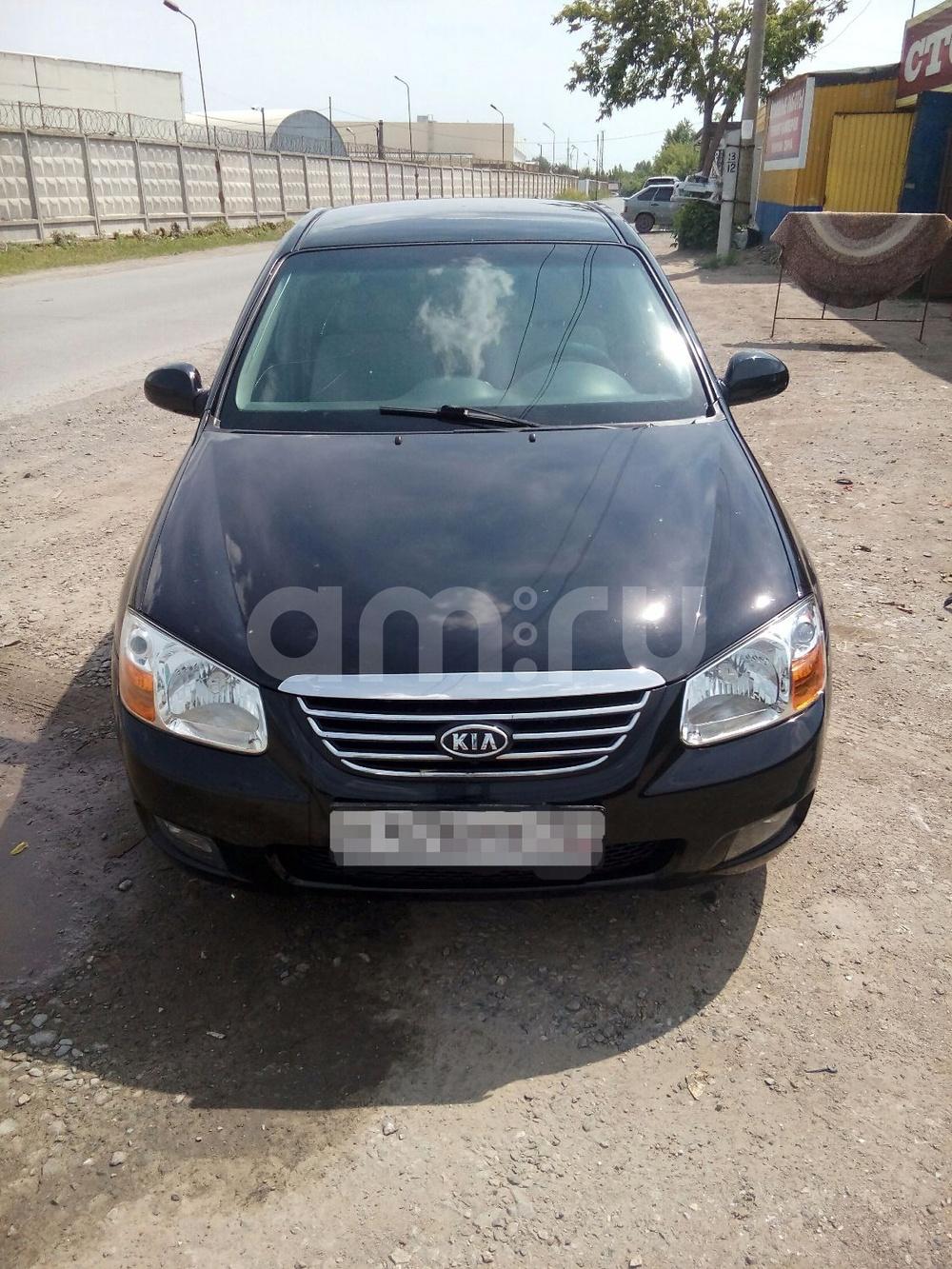 Подержанный Kia Cerato, хорошее состояние, черный , 2007 года выпуска, цена 280 000 руб. в Тюмени