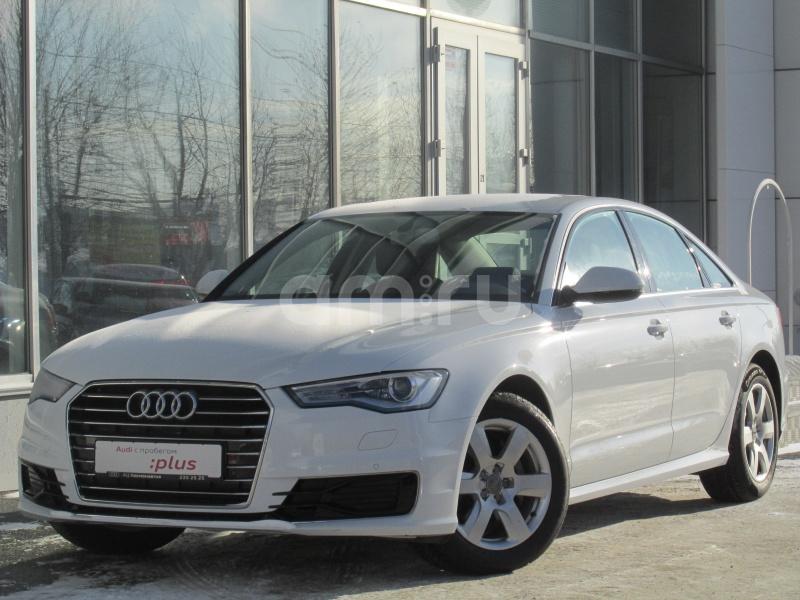 Audi A6 с пробегом, белый , отличное состояние, 2015 года выпуска, цена 1 800 000 руб. в автосалоне Европа Авто (Екатеринбург, пр-кт Космонавтов, д. 6)