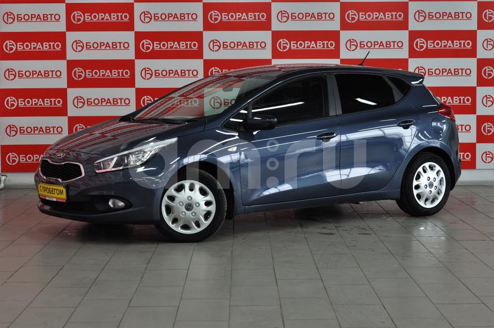 Kia Cee'd с пробегом, синий , отличное состояние, 2015 года выпуска, цена 690 000 руб. в автосалоне  ()