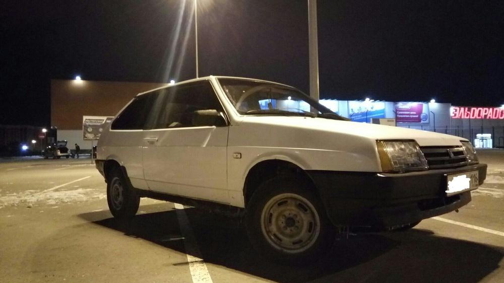 Подержанный ВАЗ (Lada) 2108, хорошее состояние, белый , 1998 года выпуска, цена 44 000 руб. в республике Татарстане