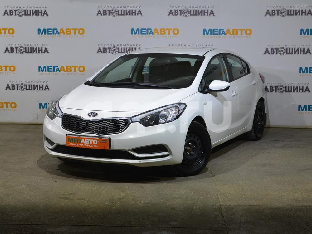 Kia Cerato с пробегом, белый , отличное состояние, 2013 года выпуска, цена 579 000 руб. в автосалоне Мега Авто Калуга (Калуга, ул. Зерновая, д. 28)
