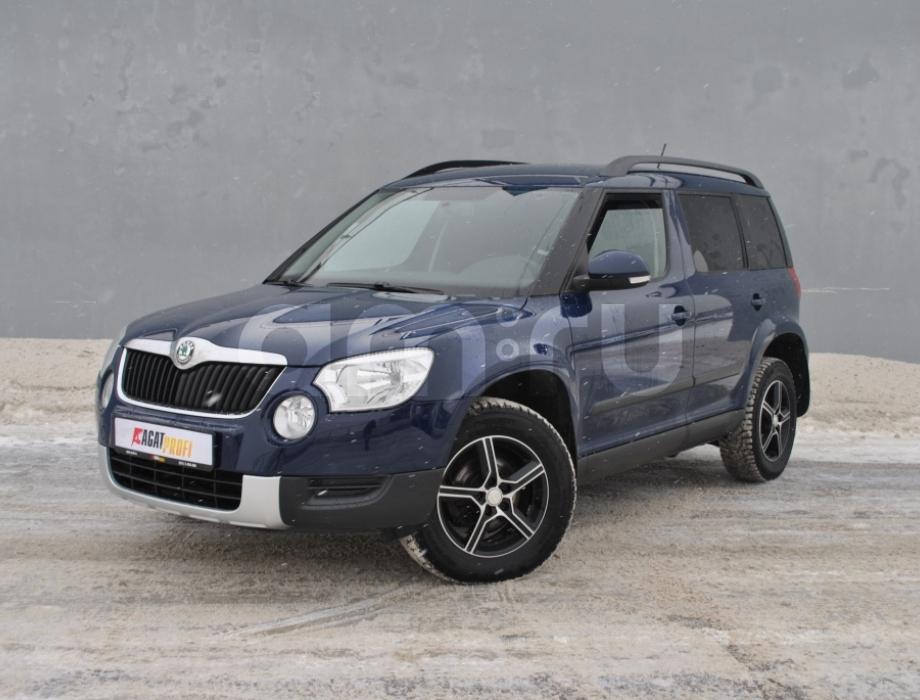Skoda Yeti с пробегом, синий , отличное состояние, 2011 года выпуска, цена 525 000 руб. в автосалоне  ()